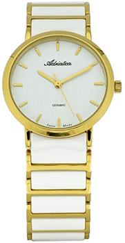Швейцарские наручные  мужские часы Adriatica 3155.D113Q. Коллекция Ceramic