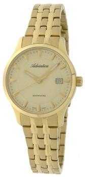 Швейцарские наручные  женские часы Adriatica 3158.1111Q. Коллекция Twin