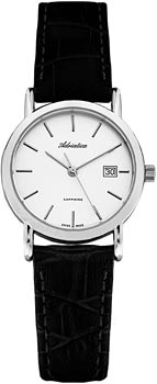 Швейцарские наручные  женские часы Adriatica 3159.5213Q. Коллекция Twin