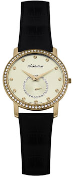 Швейцарские наручные  женские часы Adriatica 3162.1241QZ. Коллекция Ladies