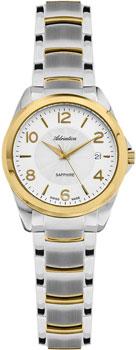 Швейцарские наручные  женские часы Adriatica 3165.2153Q. Коллекция Twin
