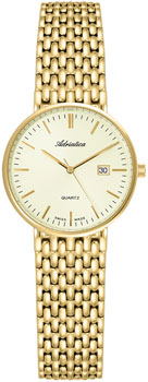 Швейцарские наручные  женские часы Adriatica 3170.1111Q. Коллекция Twin
