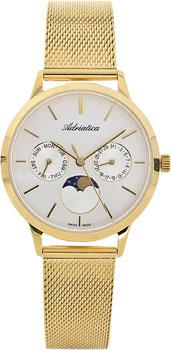 Швейцарские наручные  женские часы Adriatica 3174.1113QF. Коллекция Multifunction