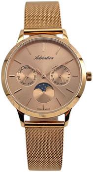 Швейцарские наручные  женские часы Adriatica 3174.9119QF. Коллекция Multifunction