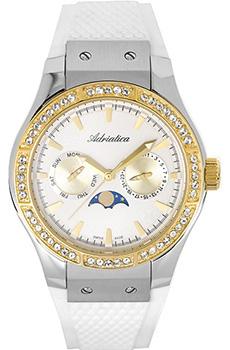 Швейцарские наручные  женские часы Adriatica 3209.2253QFZ. Коллекция Multifunction
