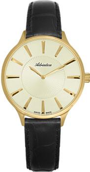 Швейцарские наручные  женские часы Adriatica 3211.1211Q. Коллекция Ladies