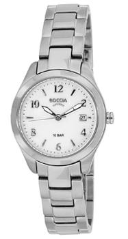 Наручные  женские часы Boccia 3224-01. Коллекция Dress