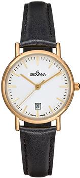 Швейцарские наручные  женские часы Grovana 3229.1513. Коллекция Traditional