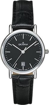 Швейцарские наручные  женские часы Grovana 3229.1537. Коллекция Traditional
