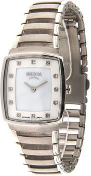 Наручные  женские часы Boccia 3241-01. Коллекция Titanium