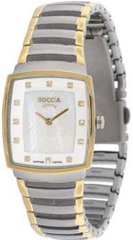 Наручные  женские часы Boccia 3241-02. Коллекция Titanium