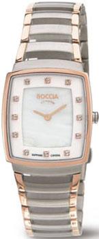 Наручные  женские часы Boccia 3241-03. Коллекция Titanium
