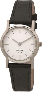 Наручные  женские часы Boccia 3247-01. Коллекция Titanium