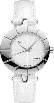 Швейцарские наручные  женские часы Doxa 330.15.011.07. Коллекция Grafic