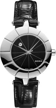 Швейцарские наручные  женские часы Doxa 330.15.101.01. Коллекция Grafic
