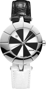 Швейцарские наручные  женские часы Doxa 330.15.261.0107. Коллекция Grafic