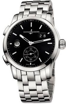 Швейцарские наручные  мужские часы Ulysse Nardin 3343-126-7-92