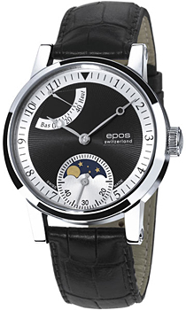 Швейцарские наручные  мужские часы Epos 3378.698.20.55.25. Коллекция Sophistiquee