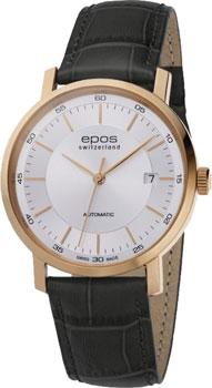 Швейцарские наручные  мужские часы Epos 3387.152.24.18.15. Коллекция Originale