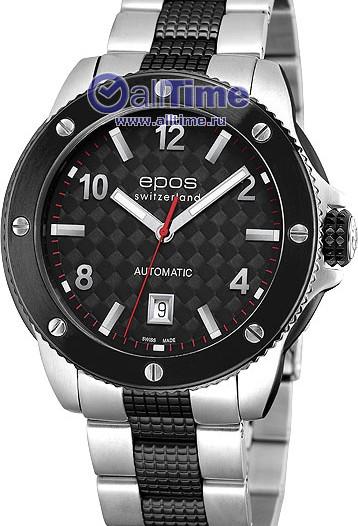 Мужские наручные швейцарские часы в коллекции Sportive Epos