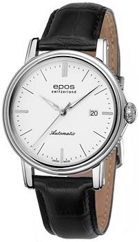 Швейцарские наручные  мужские часы Epos 3390.152.20.10.25. Коллекция Emotion