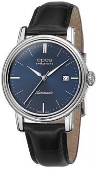 Швейцарские наручные  мужские часы Epos 3390.152.20.16.25. Коллекция Emotion