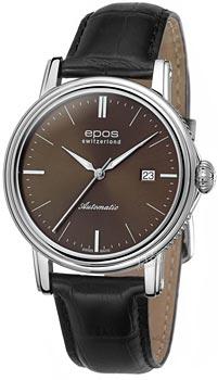Швейцарские наручные  мужские часы Epos 3390.152.20.17.25. Коллекция Emotion