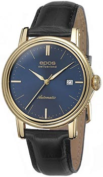 Швейцарские наручные  мужские часы Epos 3390.152.22.16.25. Коллекция Emotion