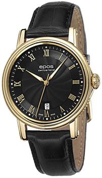 Швейцарские наручные  мужские часы Epos 3390.152.22.25.25. Коллекция Emotion