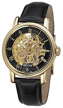 Швейцарские наручные  мужские часы Epos 3390.156.22.25.25. Коллекция Emotion