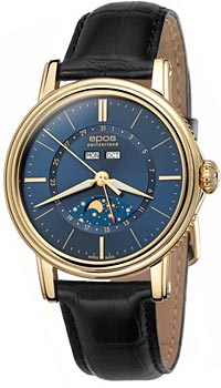 Швейцарские наручные  мужские часы Epos 3391.832.22.56.25. Коллекция Emotion
