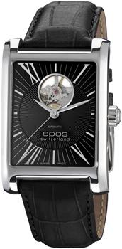 Швейцарские наручные  мужские часы Epos 3399.133.20.25.25H. Коллекция Perfection