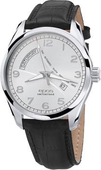 Швейцарские наручные  мужские часы Epos 3402.142.20.38.25. Коллекция Passion