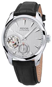 Швейцарские наручные  мужские часы Epos 3403.193.20.18.25. Коллекция Passion