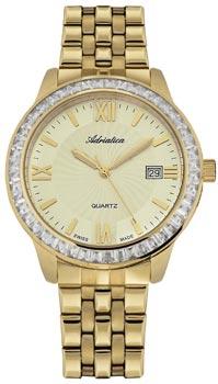 Швейцарские наручные  женские часы Adriatica 3405.1161QZ. Коллекция Ladies