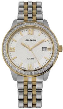 Швейцарские наручные  женские часы Adriatica 3405.2163QZ. Коллекция Ladies