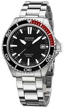 Швейцарские наручные  мужские часы Epos 3413.131.91.15.30. Коллекция Sportive
