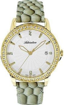 Швейцарские наручные  женские часы Adriatica 3416.1213QZ. Коллекция Automatic