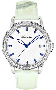 Швейцарские наручные  женские часы Adriatica 3416.52B3QZ. Коллекция Ladies