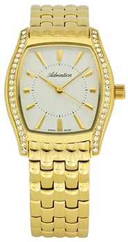 Швейцарские наручные  женские часы Adriatica 3417.1113QZ. Коллекция Ladies