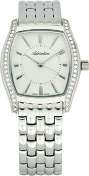 Швейцарские наручные  женские часы Adriatica 3417.5113QZ. Коллекция Zirconia