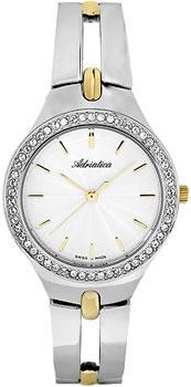 Швейцарские наручные  женские часы Adriatica 3418.2113QZ. Коллекция Ladies