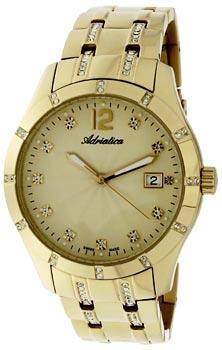 Швейцарские наручные  женские часы Adriatica 3419.1171QZ. Коллекция Automatic