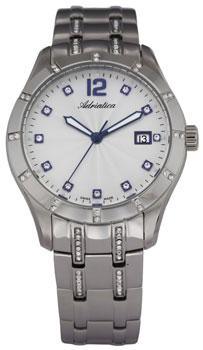 Швейцарские наручные  женские часы Adriatica 3419.51B3QZ. Коллекция Ladies