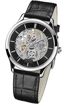 Швейцарские наручные  мужские часы Epos 3420.155.20.14.15. Коллекция Originale