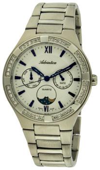 Швейцарские наручные  женские часы Adriatica 3421.51B3QFZ. Коллекция Multifunction