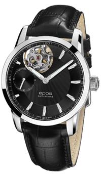 Швейцарские наручные  мужские часы Epos 3424.183.20.15.25. Коллекция Sophistiquee