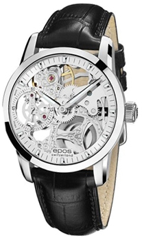 Швейцарские наручные  мужские часы Epos 3424.185.20.18.25. Коллекция Sophistiquee