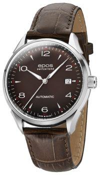 Швейцарские наручные  мужские часы Epos 3427.130.20.57.27. Коллекция Originale