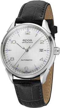 Швейцарские наручные  мужские часы Epos 3427.130.20.58.25. Коллекция Originale